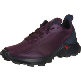 Salomon Alphacross Shoes Women purple